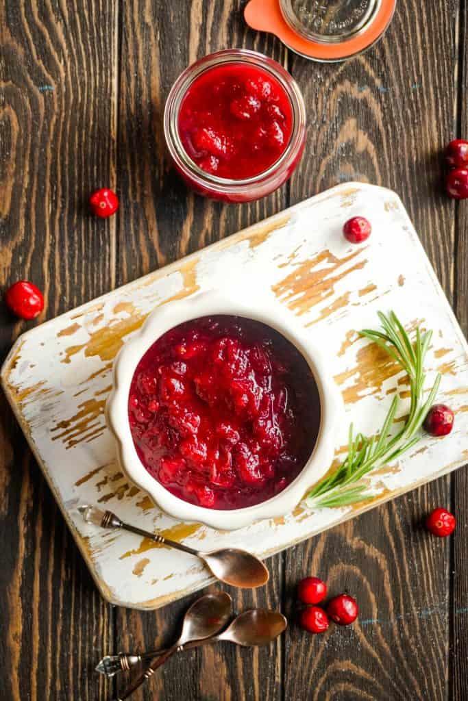 Quick and Easy dump recipe for Instant Pot Orange Cranberry Sauce
