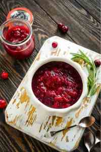 Instant Pot Cranberry Orange Sauce
