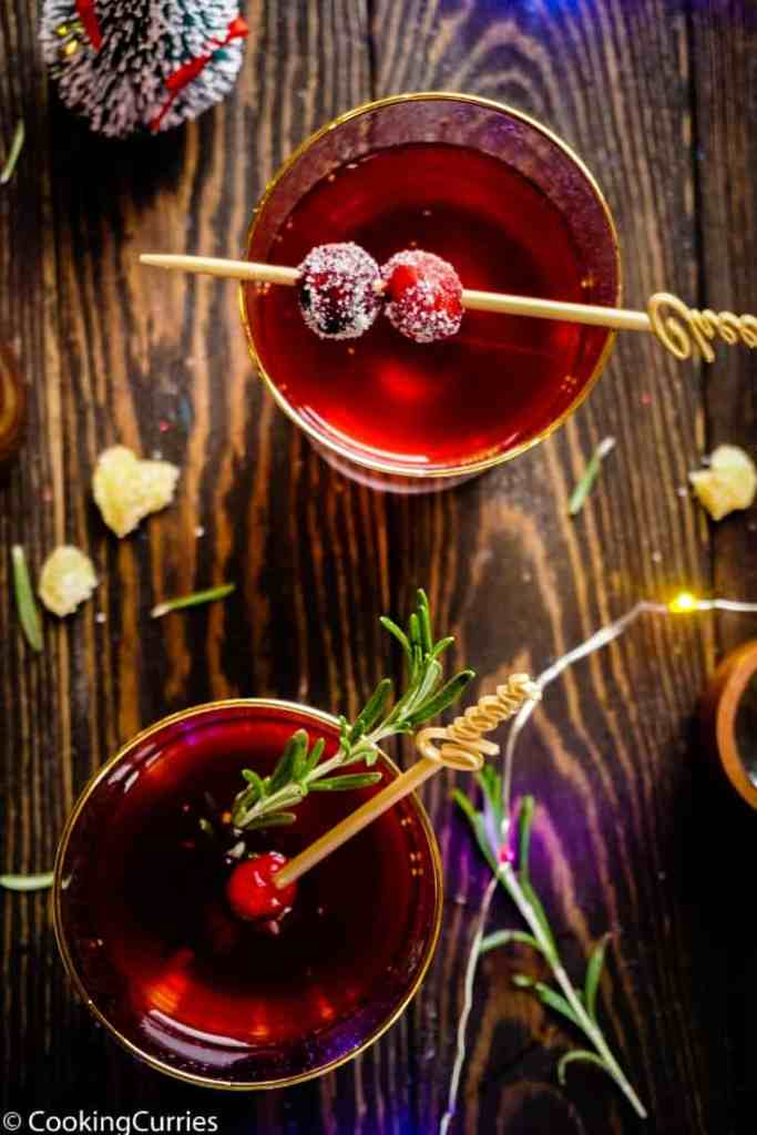 Cranberry Gin Smash