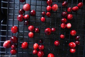 Easy Sugared Cranberries