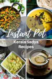 Instant Pot Kerala Sadya Recipes