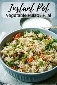 Instant Pot Vegetable Pulao