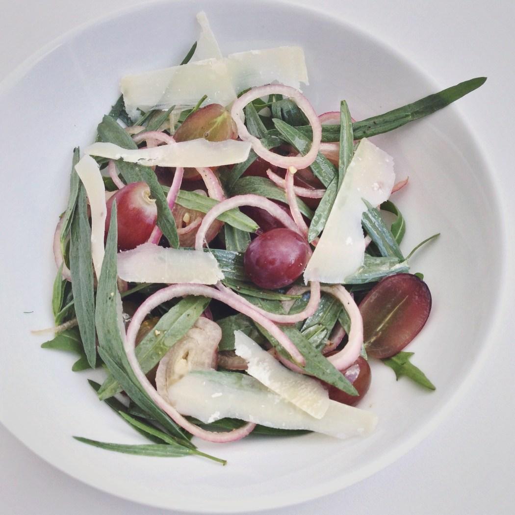 Dragon sjalot salade