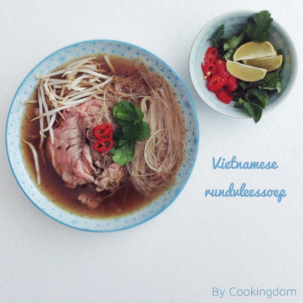 Vietnamese pho By Cookingdom