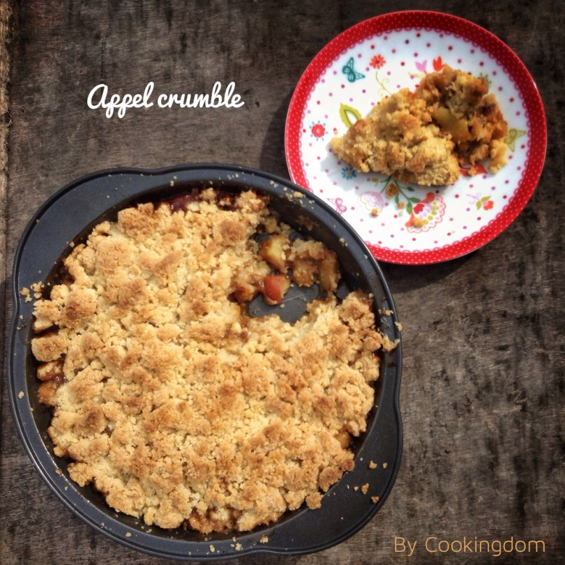 Appel Crumble by Cookingdom