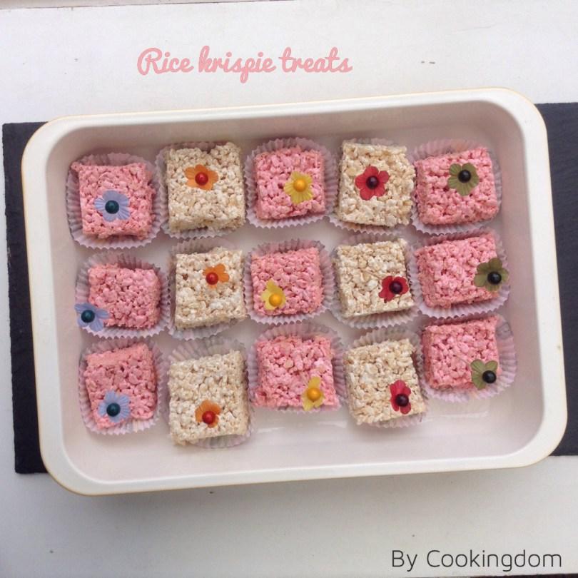 Rice krispie treats by Cookingdom