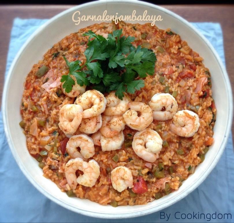 Garnalenjambalaya by Cookingdom