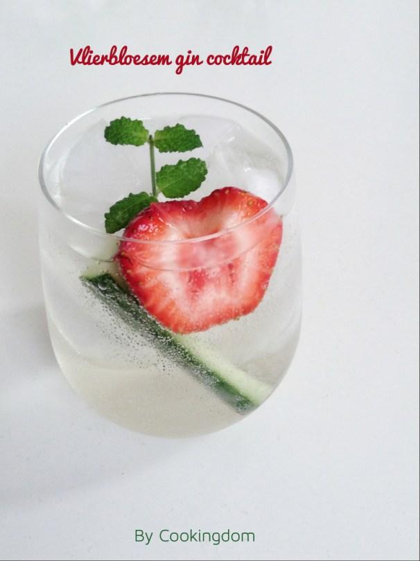 Vlierbloesem gin cocktail By Cookingdom