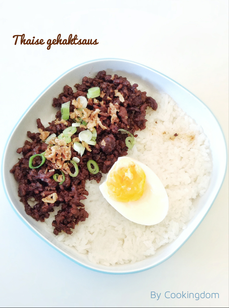 Thaise gehaktsaus By Cookingdom