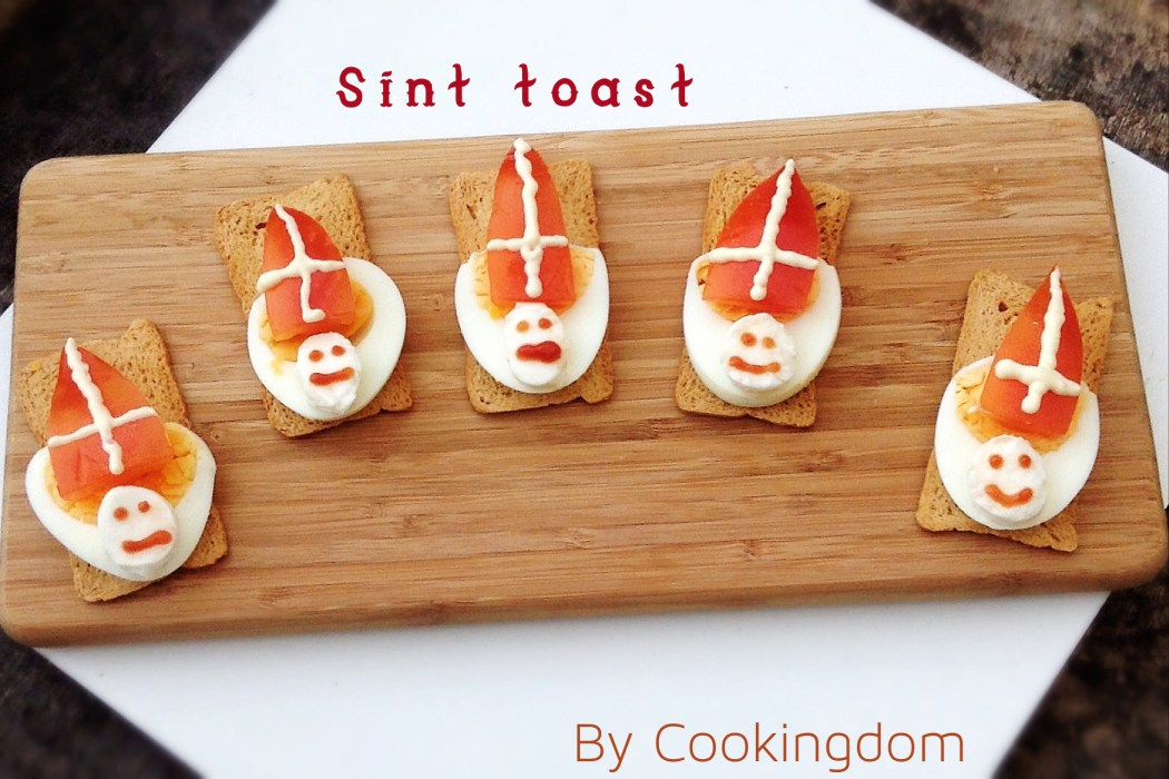 Sint toastjes By Cookingdom