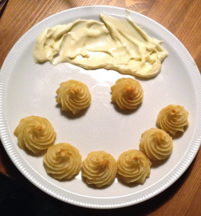 Smiley pommes