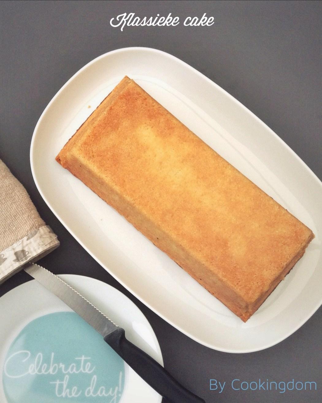 Klassieke cake By Cookingdom
