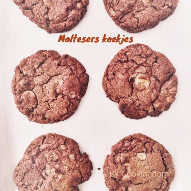 Maltesers koekjes By Cookingdom