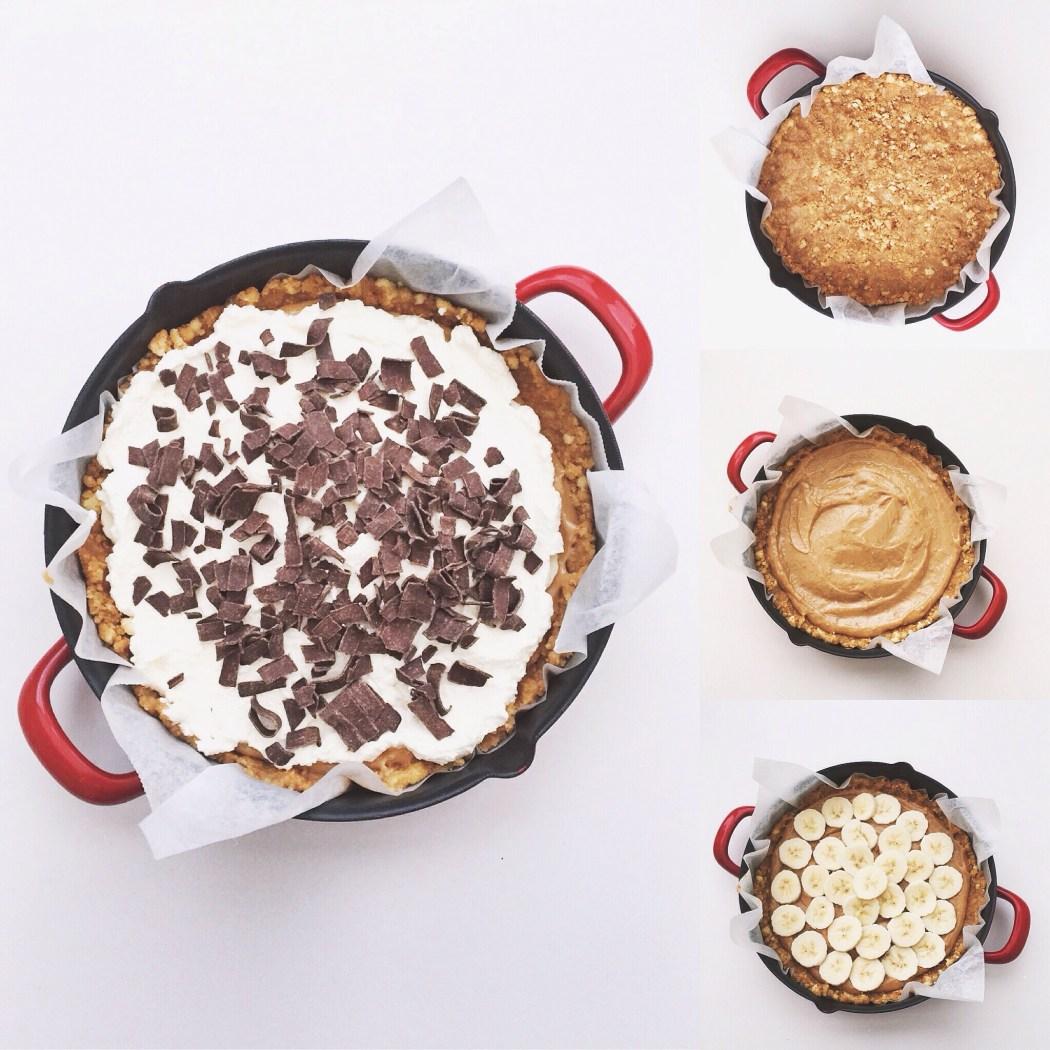 Banoffee taart met dulche de leche