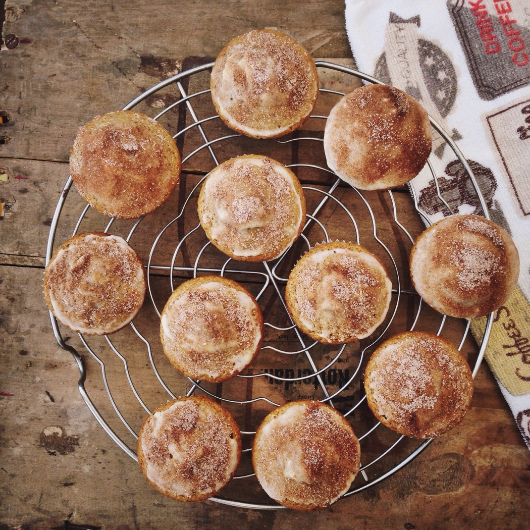 Kaneelsuiker muffins met bier, By Cookingdom