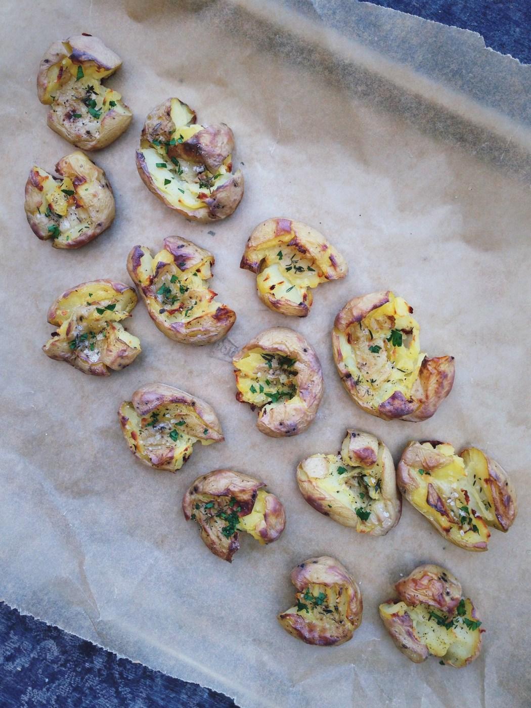 Geplette krieltjes uit de oven