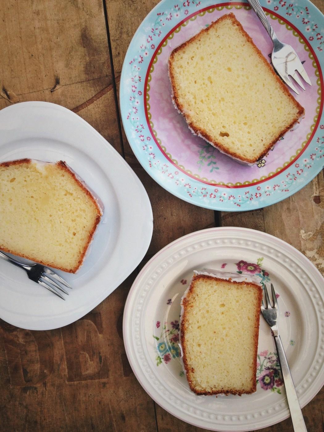 Griekse yoghurt cake met citroen