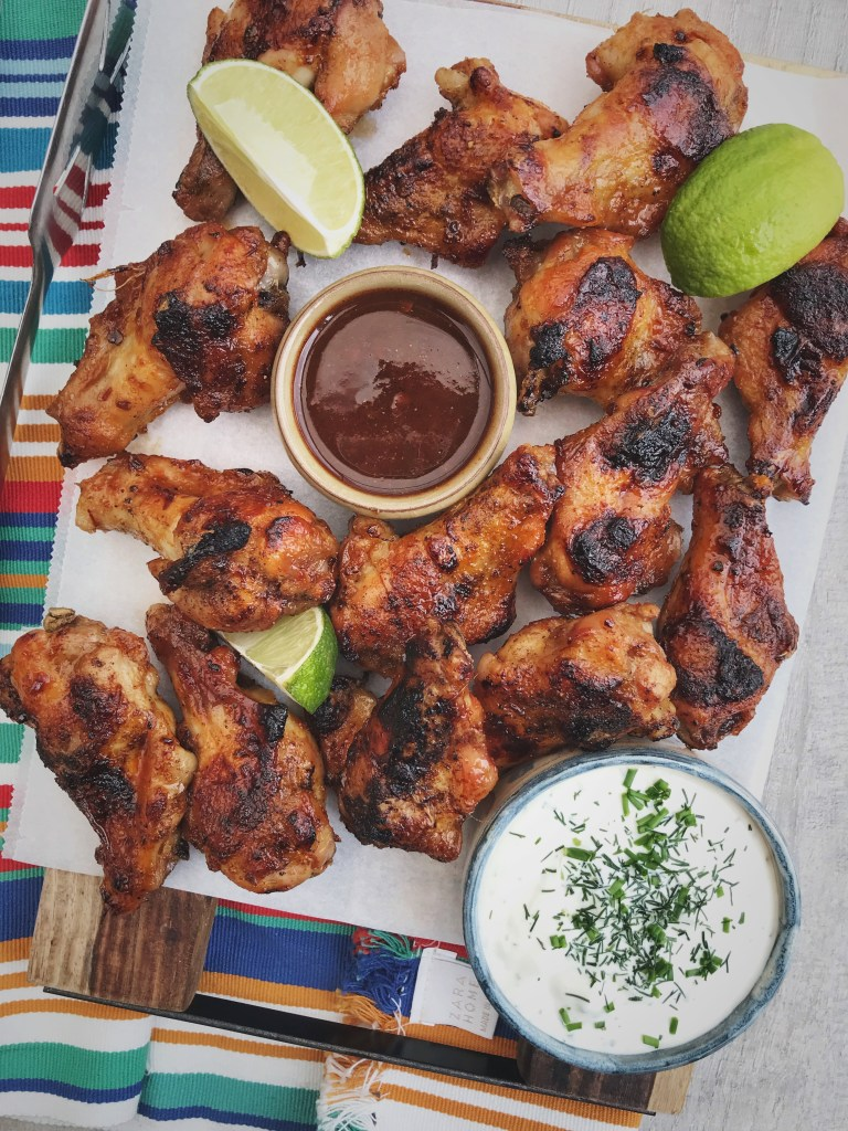 Chipotle honing chicken wings