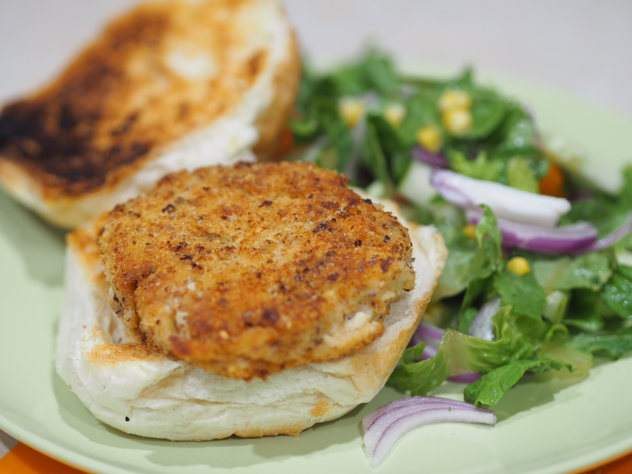 Chicken and Zucchini Burger Patties