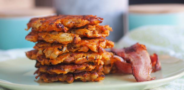 Sweet Potato and Bacon Fritters