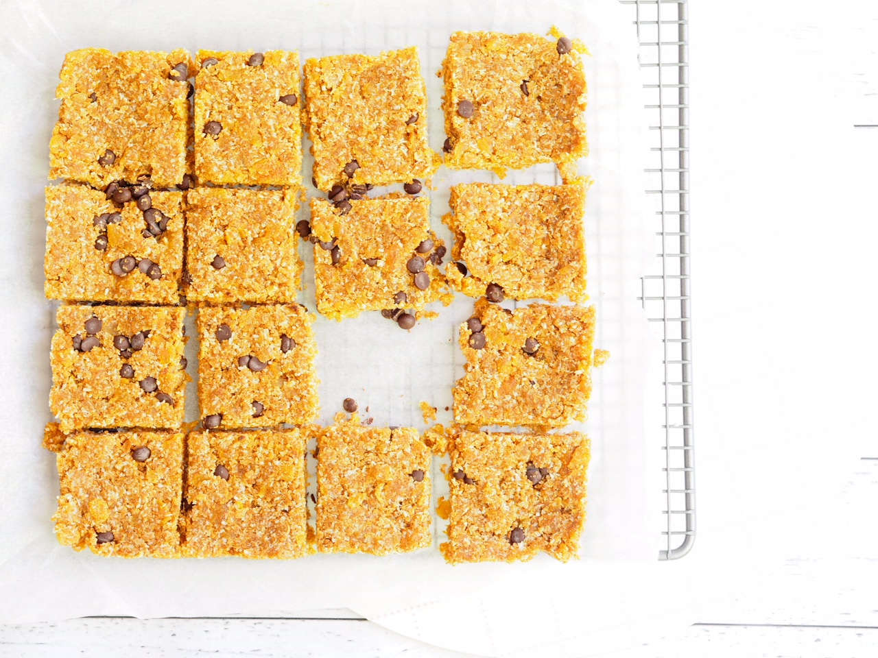 No Bake Apricot Slice with Choc Chips