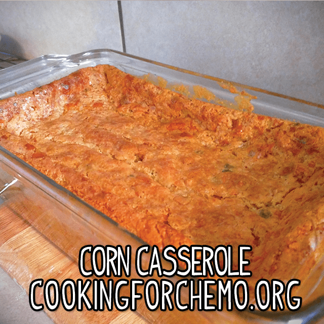 corn casserole southern side dish cornbread easy delicious healthy cancer cooking recipes