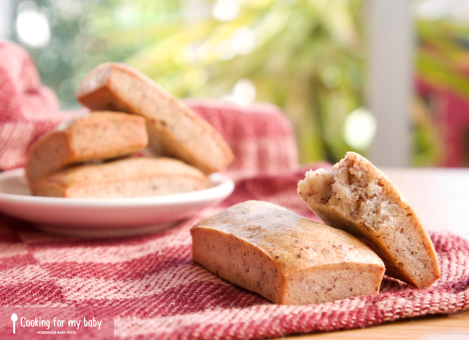 Easy french hazelnut financiers recipe for babies and all the family (From 12 months)