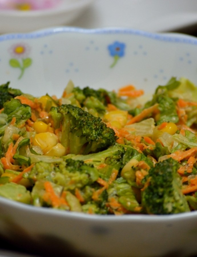 Broccoli Lettuce Salad
