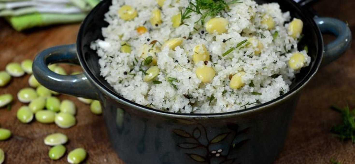 Akki Thari Uppitu | Karnataka Rice Rava Upma