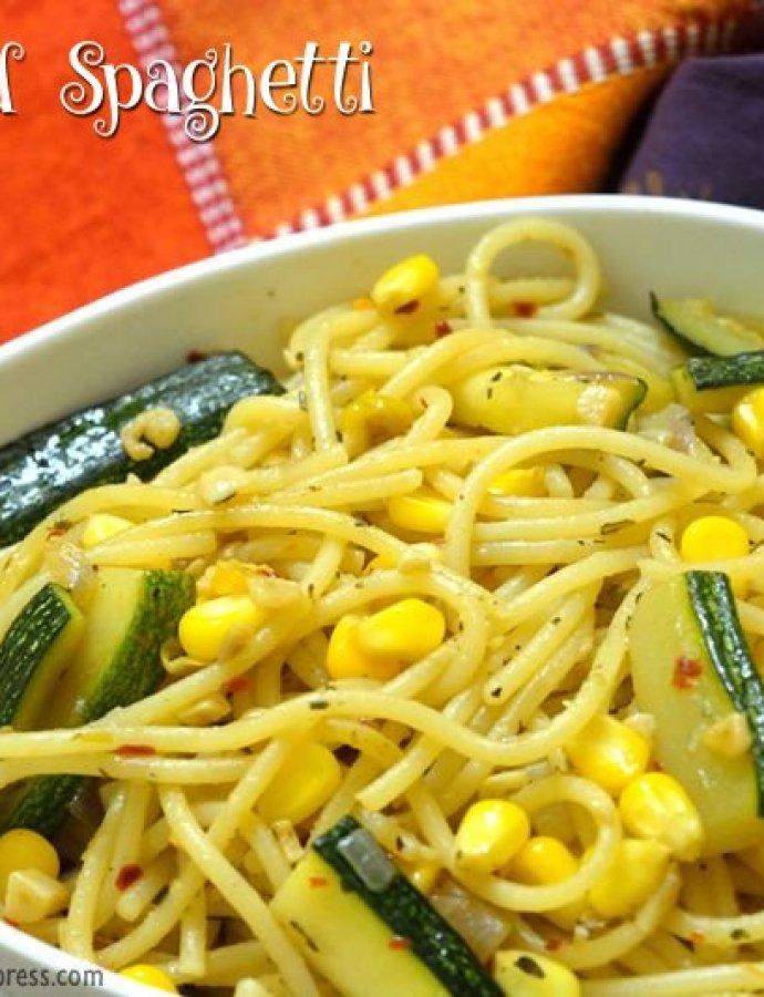 Stir-Fried Spaghetti