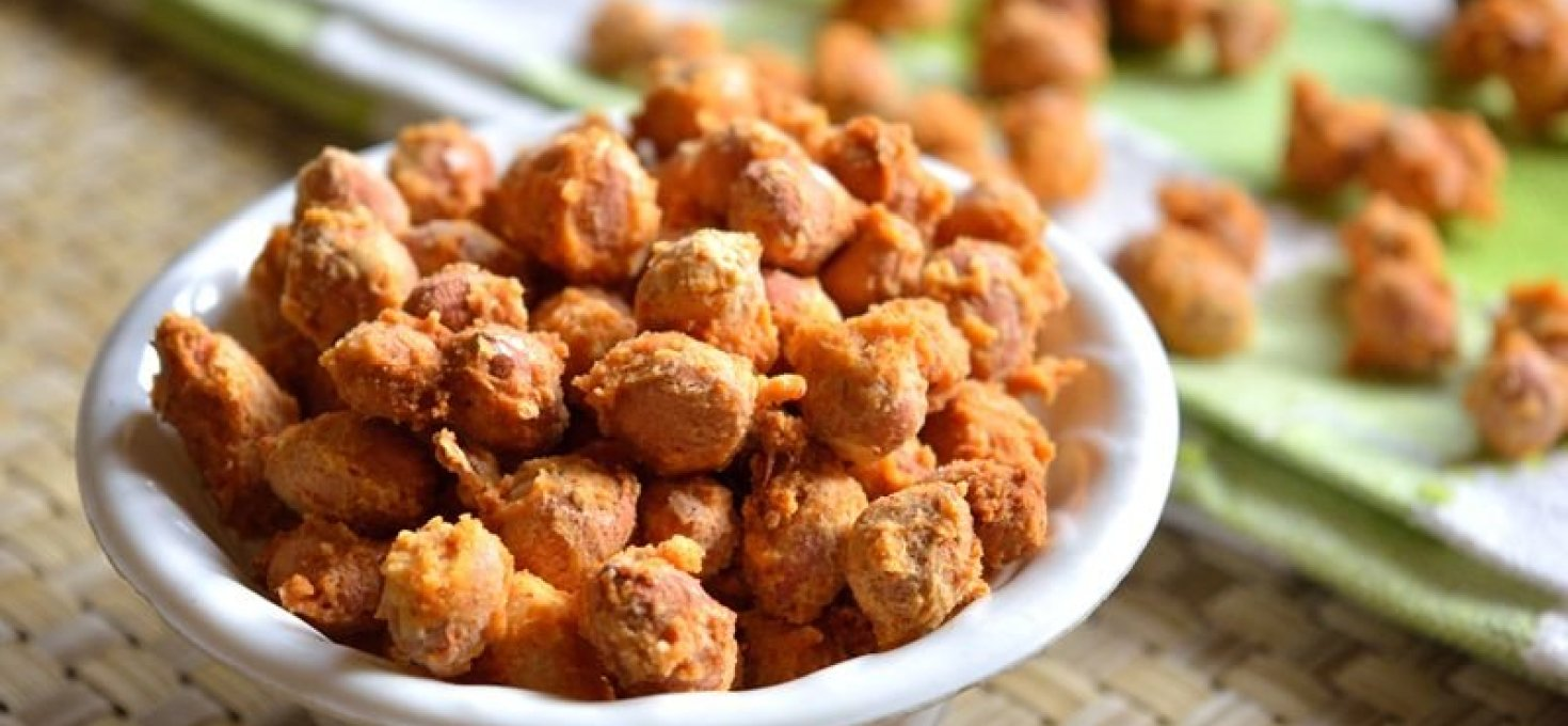 Masala Peanuts | Low Calorie Snack