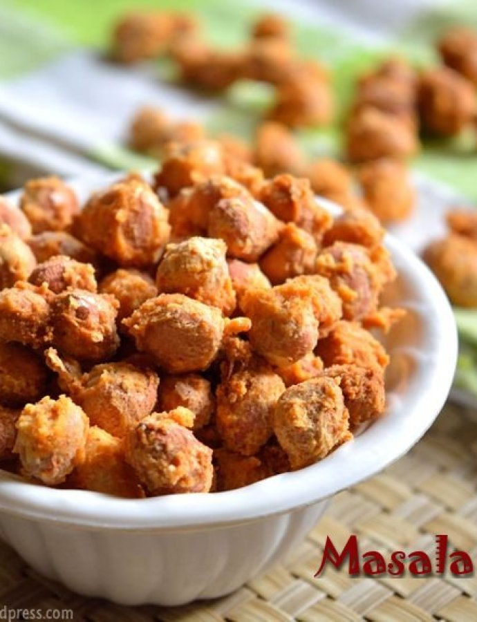 Masala Peanuts | Low Calorie Snack