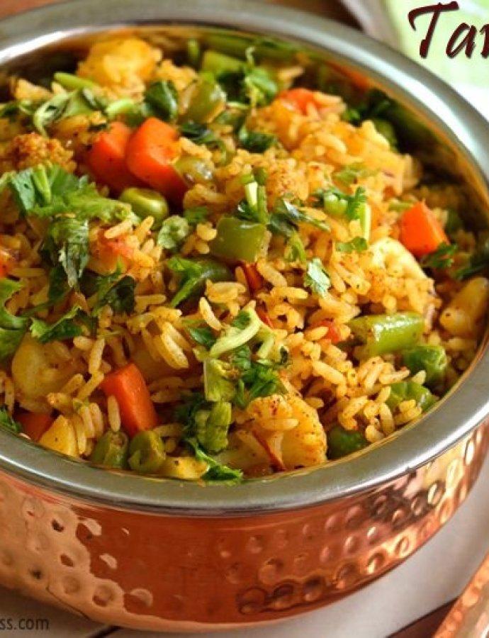 Tawa Pulao | Easy Lunch Ideas | Mumbai Street Food Tava Pulav