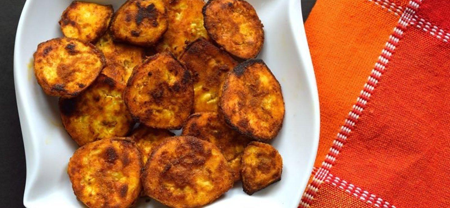 Vazhakkai Varuval | Aratikaya Vepudu | Raw Plantain Fry