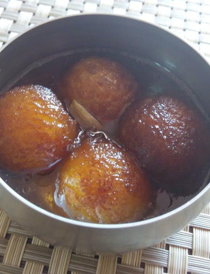 Homemade Gulab Jamuns from Scratch | Dussera Special