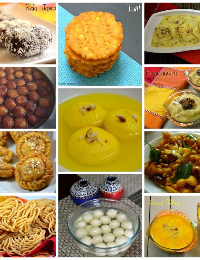 Deepavali Special Recipes – A round-up!