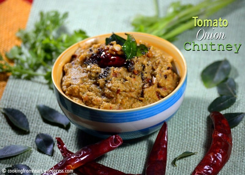 Tomato Onion Chutney | Tomato Ullipaya Pachadi| Mom's Recipe Series