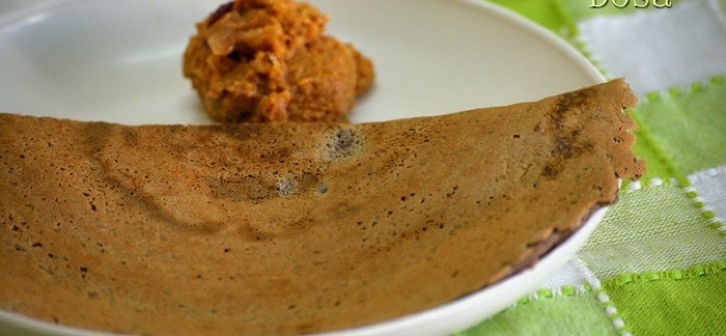 Ragi Dosa | Finger Millet Dosa | Healthy Recipes