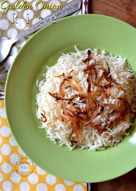 Golden Onion Rice 3-1