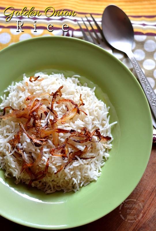 Golden Onion Rice 5-1
