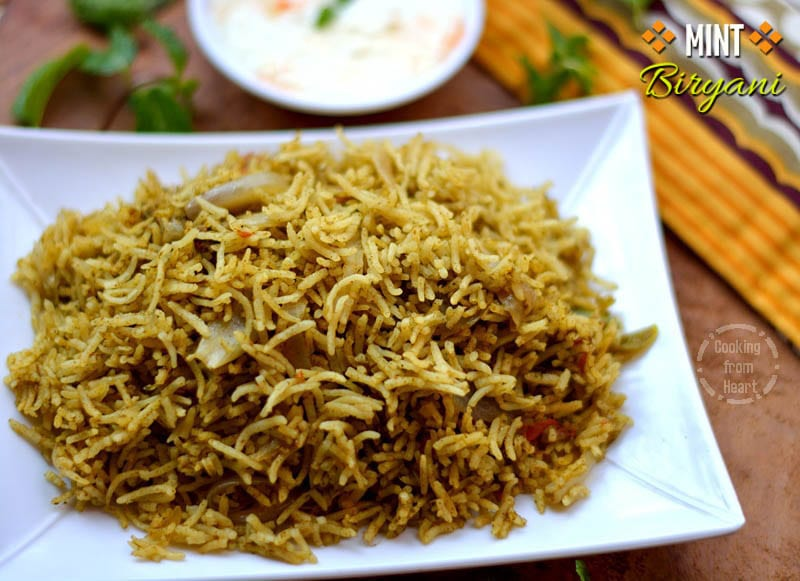 Pudina Biryani | Mint Pulao | Sunday Biriyani Series