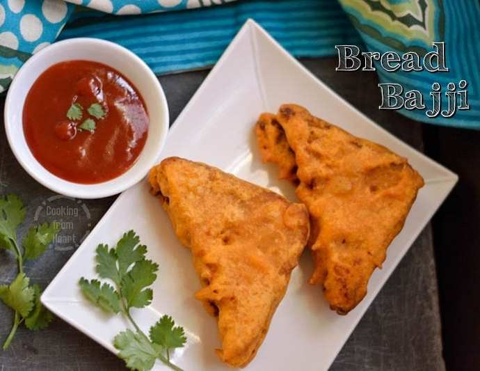 Bread Bajji | Bread Pakoda | Quick Snack Ideas