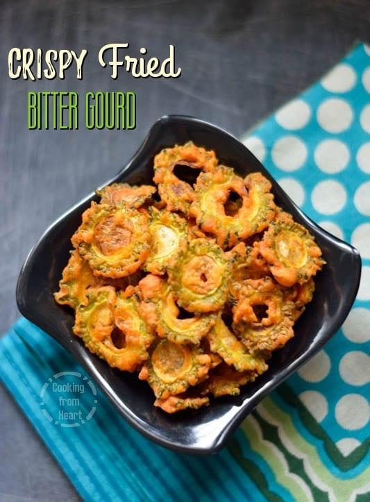 Crispy Bitter Gourd Fry (3)