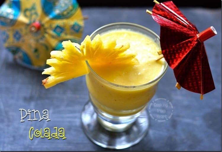 Vegetarian Pina Colada