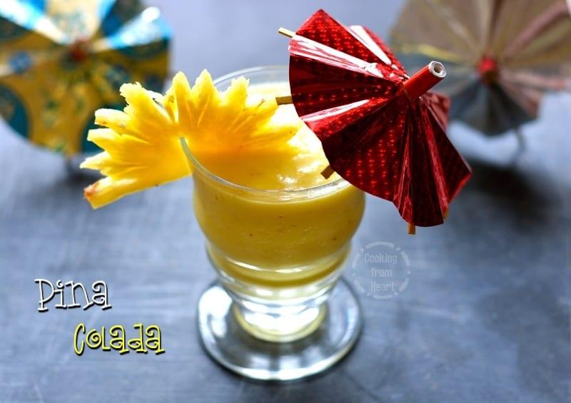 Virgin Pina Colada Mocktail