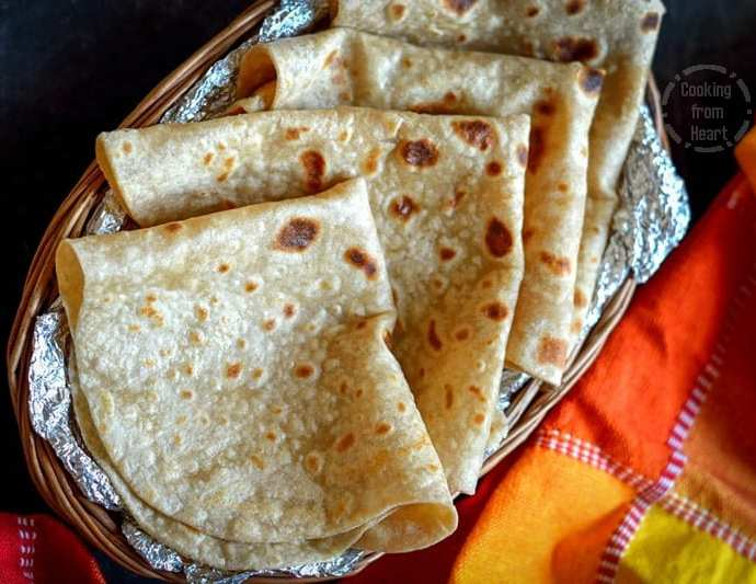 Rumali Roti | Homemade Roomali Roti Recipe