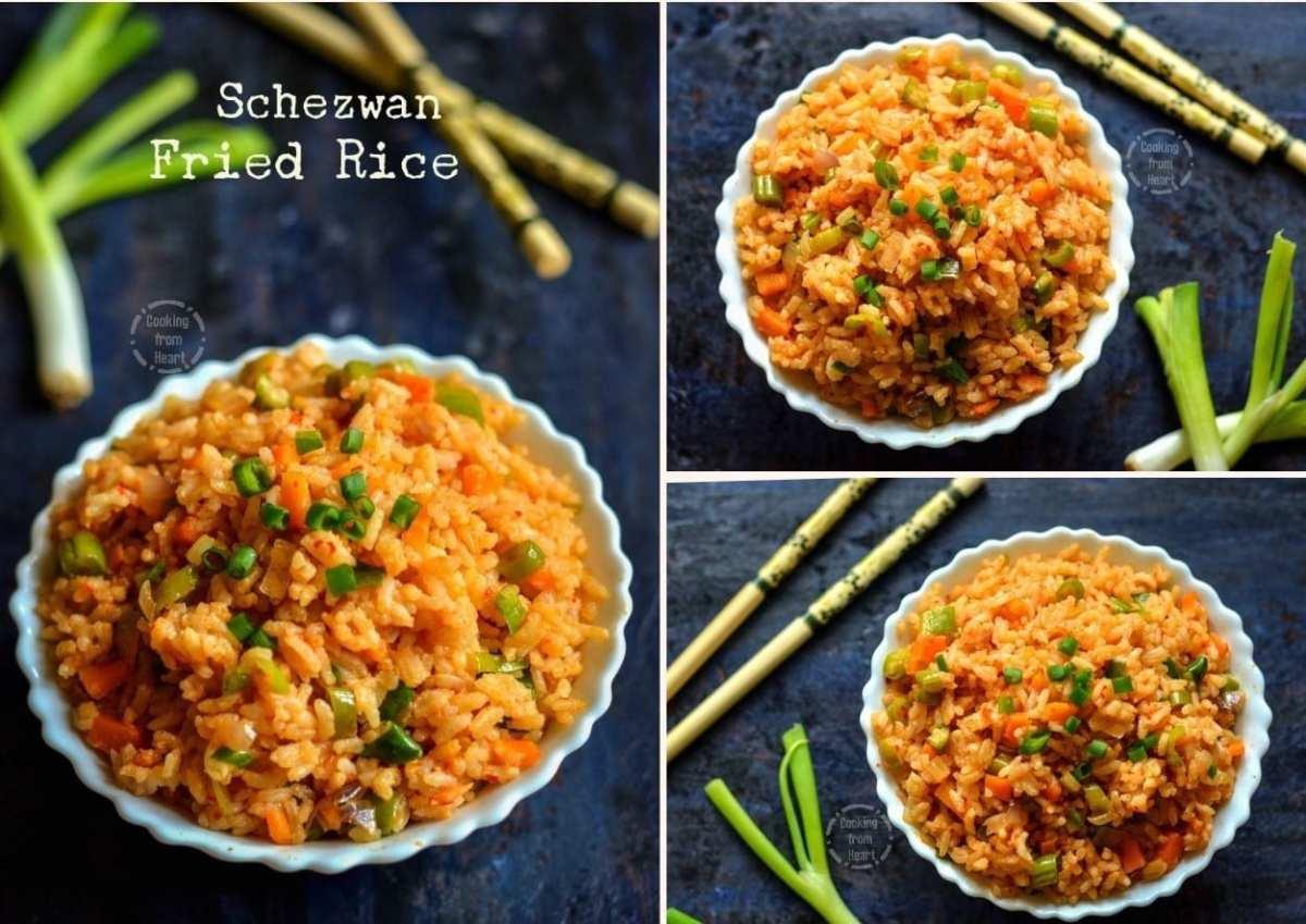 schezwan-fried-rice-collage