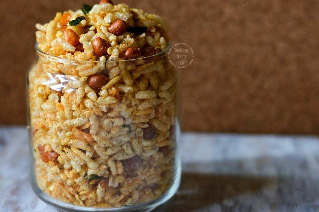 Aval Pori Mixture | Diwali Special Recipe