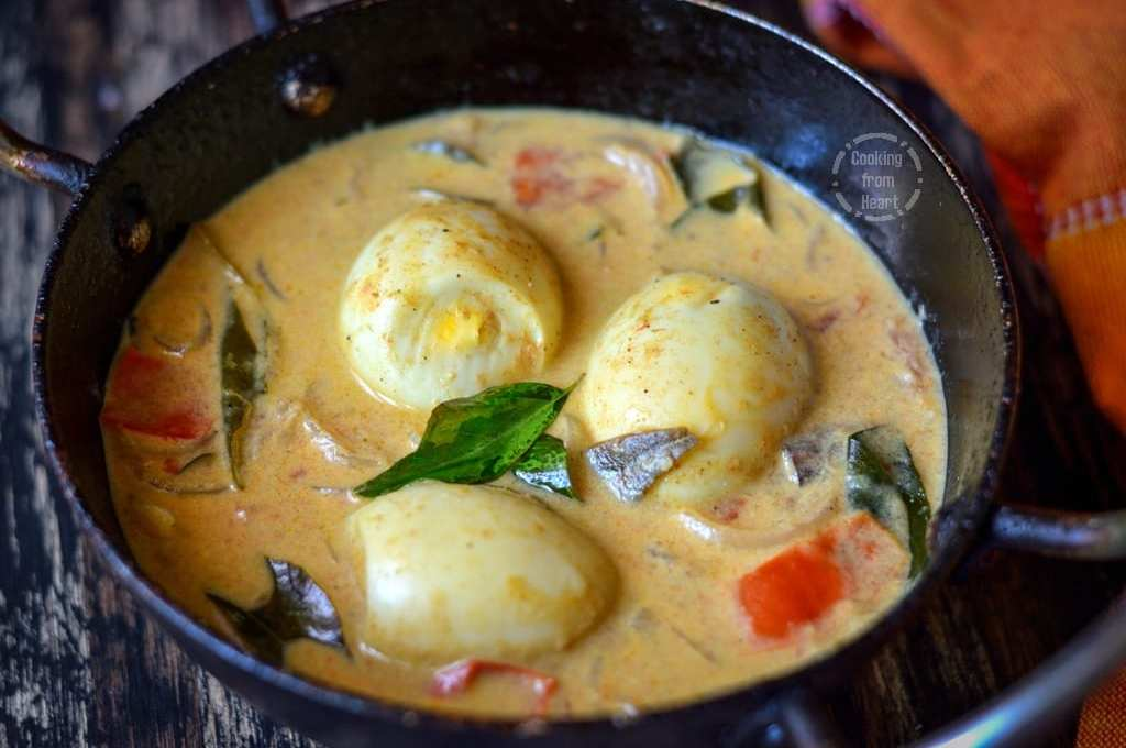 Egg Stew | Creamy Egg Curry with Coconut Milk