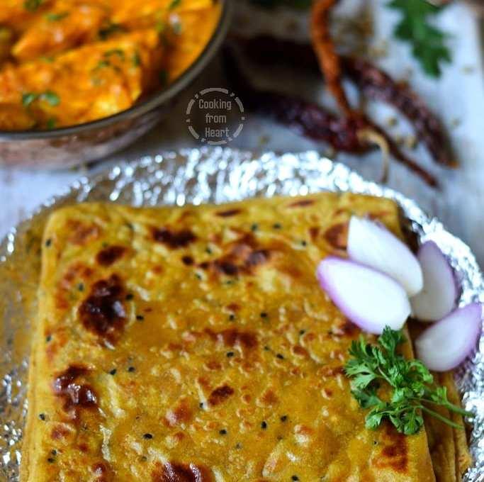 Masala Paratha | Square Paratha